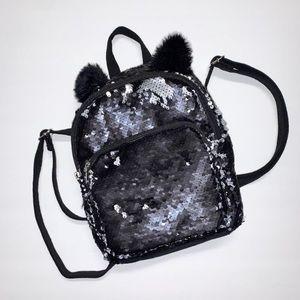 Girls Reversible Sequin Mini backpack